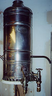 Antique Humphrey No 8 Water Heater